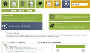 WebGrid Online Web Tutorials