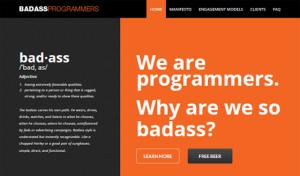 Badass Programmers