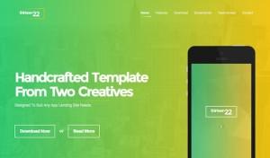 Thirteen22 – App Landing Page
