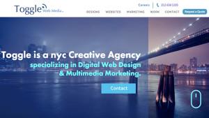 Web Design & Website Development Company in New York | Toggle Web Media
