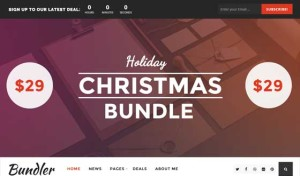 Bundler – WordPress Blog Theme With Easy Digital Downloads